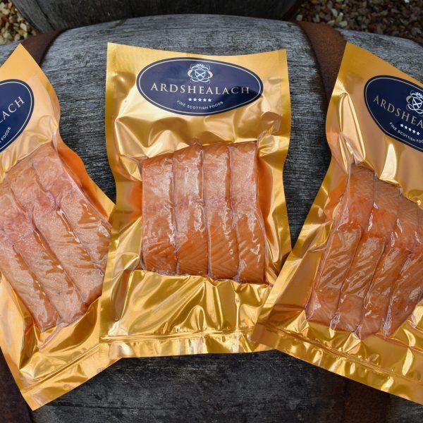 Ardshealach Roast Smoked Salmon packs