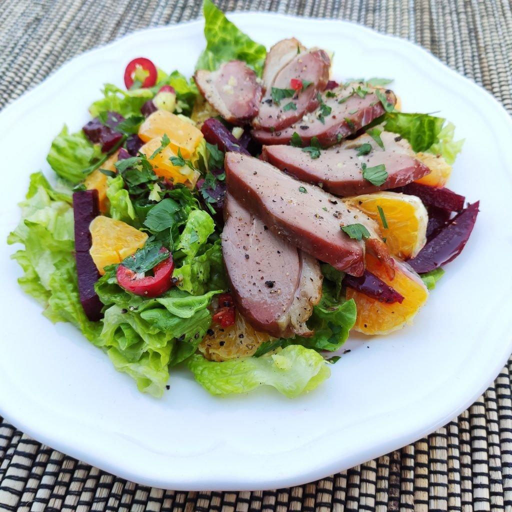 Ardshealach Smoked Duck Salad